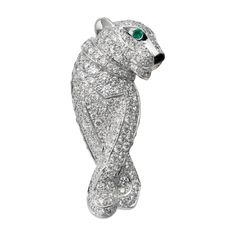 Panthère de Cartier brooch - This Cartier panther brooch would be awesome paired with an Armani or Zac Posen power suit.