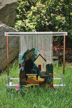 """Mirrix 16"""" Tapestry Loom, Weaving Equipment - Halcyon Yarn, Quality and Value for Fiber Artists"""