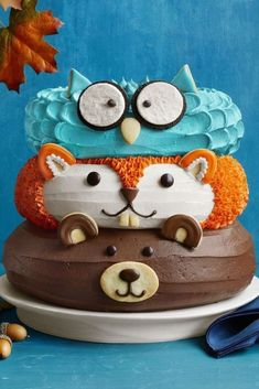 Pretty Cakes, Cute Cakes, Sweet Cakes, Fancy Cakes, Pink Cakes, Gorgeous Cakes, Tortas Deli, Friends Cake, Friends Recipe