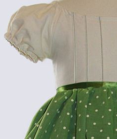 Check out the green stitching. Way to pull it together! I can already see my little Lotte twirling in this. Green Party Dress, Green Dress, Party Dresses, Pin Tucks, Different Fabrics, Baby Dress, Vintage Inspired, Fancy, Sewing