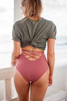 95976b5d636 68 Best *High Waisted Bikini Bottoms images in 2019 | High waisted ...