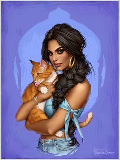 Jasmine by fdasuarez