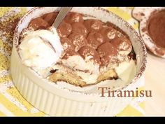 Tiramisu Yumurtasiz / Tiramisu without eggs / Тирамису без яиц