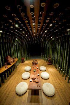 Aydınlatma ve Dekor Dünyasından Gelişmeler: MINAX'dan Lotus & Bamboo Tea Room Aydınlatma #lighting #design #tasarim #dekor #decor