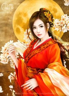 Genius Empress Cross - Chapter 6 Tell me why - Wattpad Ancient Beauty, Ancient Art, Chinese Culture, Chinese Art, Geisha Art, Art Japonais, Painting Of Girl, Beautiful Asian Women, Fantasy Girl