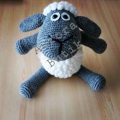 #amigurumi #amigurumioyuncak #handmade #elemeği #knitting #knittingland #kuzu #kuzucuk Dinosaur Stuffed Animal, Knitting, Toys, Handmade, Animals, Amigurumi, Hand Made, Tricot, Animaux