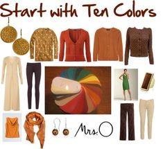 """Start with Ten: color palette"" by jeaninebyers on Polyvore"