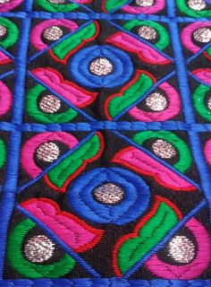 Fabric : Embroidery