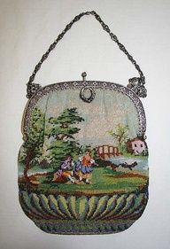 1800  vintage chain purses | Antique Vintage Purses