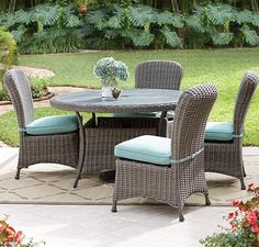 Home Decorators Collection Bedroom Stuff, 5 Piece Dining Set, Backyard, Patio, Outdoor Furniture Sets, Outdoor Decor, Martha Stewart, Outdoor Living, Living Spaces