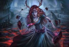 Keyleth of the Air Ashari in battle   Critical Role