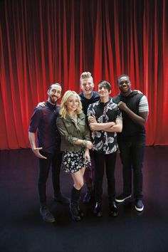 Pentatonix. If you guys don't know who they are then you need to go and listen to them. They are amazing!!!!