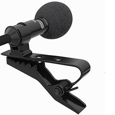 Zitronik Deluxe Lavalier Lapel Clip-on Omnidirectional Condenser Microphone for Apple Iphone, Ipad, Ipod Touch, Samsung Android and Windows Smartphone