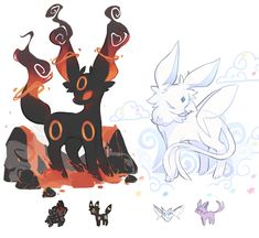 World of Our Fantasy — charamells: Pokemon fusions Pokemon Fusion Art, Pokemon Fan Art, Pokemon Tattoo, Pokemon Comics, Pokemon Eeveelutions, Creepy Pokemon, Pokemon Funny, Pokemon Pokemon, Pokemon Stuff