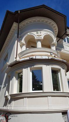 Proiect Casa Rezidentiala zona Podul Grant, Bucuresti – Profile Decorative Design Case, Windows And Doors, Gazebo, Exterior, Outdoor Structures, Architecture, Building, Profile, House