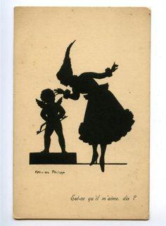 antique silhouette