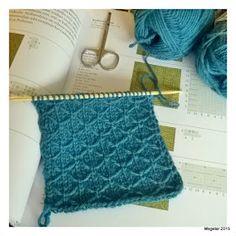 Megetar: Pipo tilkkutyösilmukalla + ohje Knitting Ideas