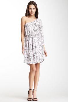 Asymmetrical Print Dress on HauteLook