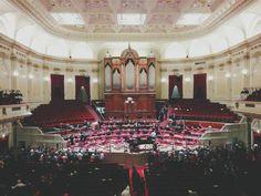 Inside the Concertgebouw, Amsterdam