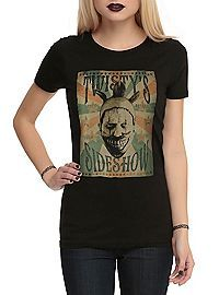 HOTTOPIC.COM - American Horror Story: Freak Show Twisty's Sideshow Girls T-Shirt