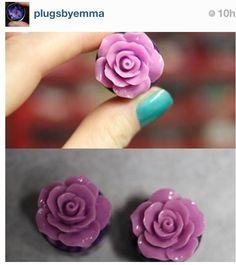 Plugs I found for my bridesmaids Almond Bread, Plugs, Bridesmaids, My Style, Floral, Flowers, Jewelry, Jewlery, Corks