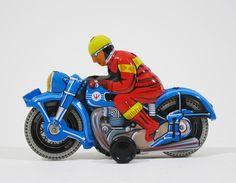 Blikken speelgoed motor