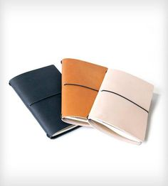 Leather Notebook Cover by 1.61 Soft Goods on Scoutmob Shoppe #DreamWeekender