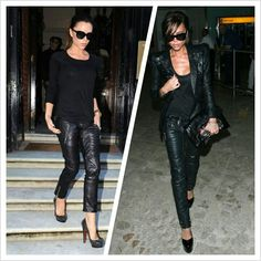 funky leather rock chic