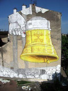 Blu Street art #mural #graffiti