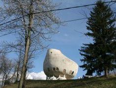Weird House in Alps - Chambéry, France