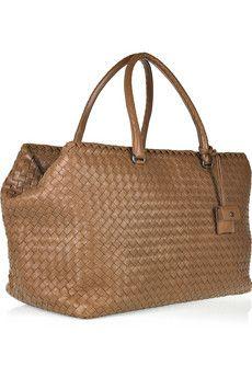 75e880bca6 Bottega Veneta - Brick intrecciato leather weekend bag