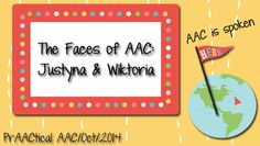 The Faces of AAC: Justyna and Wiktoria Speech Pathology, Speech Therapy, Multiple Disabilities, Interpersonal Relationship, Family Support, Special Education, Communication, Give It To Me, Faces