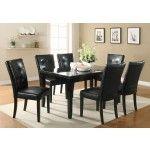 Coaster Furniture - Newbridge Cappuccino 5 Piece Dining Room Set - 103621-5Set
