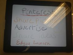 Uses for pinterest! :)