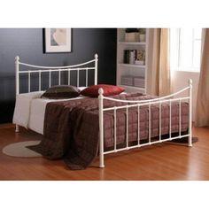 Alderley Ivory Ornate Small Double Bed Frame