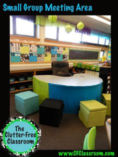 Are your instructional areas an unorganized mess? Clean them up! Find ideas and inspiration here!!