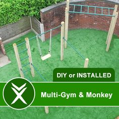 outdoor gym and monkey bar                                                                                                                                                      More