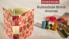 Bookbinding: Buttonhole Stitch Journal   Carla Sonheim