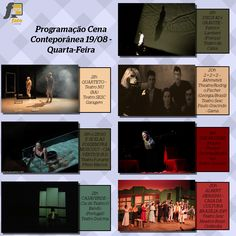 Programação do Festival Internacional de Teatro de Brasília Cena Contemporânea vai movimentar a Capital Federal até 30 de agosto ~ Fato Online