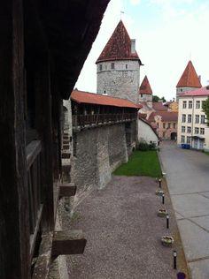 Murallas en Tallinn - ESTONIA