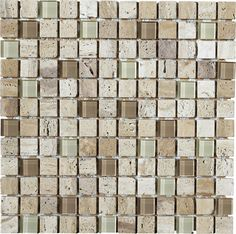 This natural stone is a beautiful addition to any backsplash or shower with its rich earthtones and mid-tone color variation. LFS Medley-Stone 10LR samples available in store