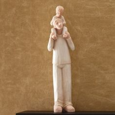 Another great Fathers Day Gift Idea for ONLY $5.99 Key to My Heart Collection Me 'N My Dad ... Best Friends For Life Tell your family members how much you love and appreciate them with an adorable Key to My Heart figurine. Made of resin, but the look of hand carved wood! The bond between father and son is everlasting. Show Dad you are thankful for all he's done for you!