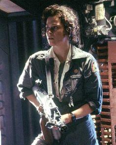 Photo: Alien, 1979 directed by Ridley Scott with Sigourney Weaver (photo) : Alien 1979, Alien Sigourney Weaver, Conquest Of Paradise, Alien Films, Aliens Movie, Ellen Ripley, Pet Sematary, Martin Scorsese, Stanley Kubrick