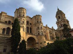 Malaga Malaga, Notre Dame, Barcelona Cathedral, Building, Travel, Landscapes, City, Viajes, Buildings