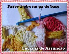 Artesanato com amor...by Lu Guimarães: Flor copo de Leite