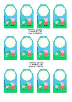 Visita el blog siempre habra de que platicar y detallitos que podamos compartir!! Pig Birthday, Fourth Birthday, Birthday Parties, Hello Kitty Colouring Pages, Cumple Peppa Pig, Pig Party, Birthdays, Peppa Pig Stickers, Picnics
