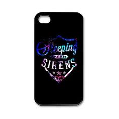 PC-Beauty Custom Design 1 Sleeping with Sirens Black Print Hard Shell Cover Case for iPhone 4/4S:Amazon:Cell Phones & Accessories