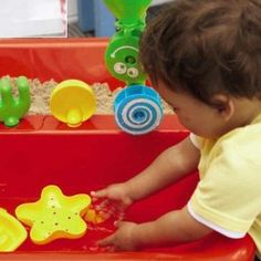 Sand and water table. $54.31 at Amazon.