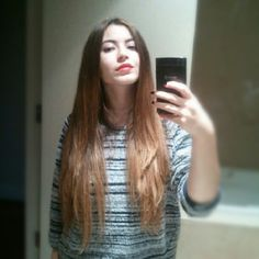 Straight Ombre Hair, Good Hair Day, Hair Today, Cool Hairstyles, Long Hair Styles, Beauty, Instagram, Dope Hairstyles, Beleza