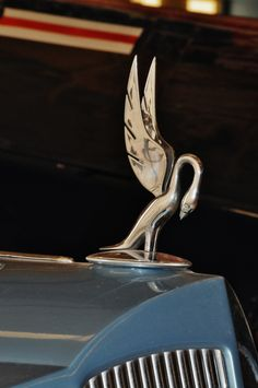 1936 Packard Super 8 hood ornament.  Photography by David E. Nelson